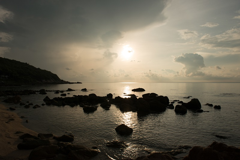 sunset at Samui